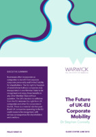 The Future of UK-EU Corporate Mobility
